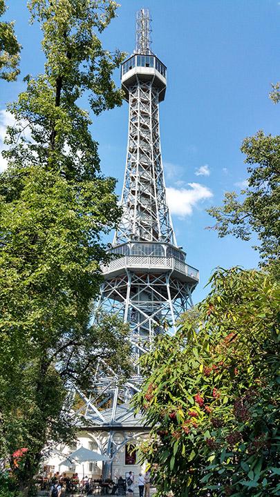 petrinska rozhledna petrin lookout tower prazske vyhledy prague views